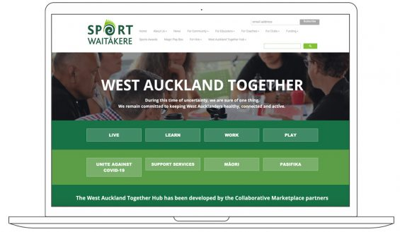 http://www.sportwaitakere.co.nz/west-auckland-together-hub
